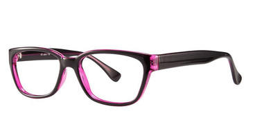 Black/Purple Vivid Soho 118 Eyeglasses.