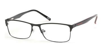 Matte Black Skechers SE3171 Eyeglasses.