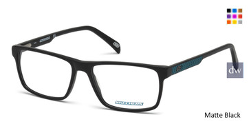 Matte Black Skechers SE3199 Eyeglasses.