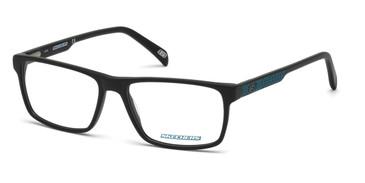 Matte Black Skechers SE3199 Eyeglasses.