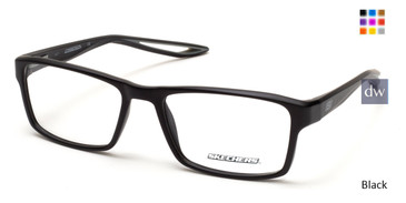 Black Skechers SE3223 Eyeglasses.
