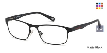 Matte Black Skechers SE3230 Eyeglasses.