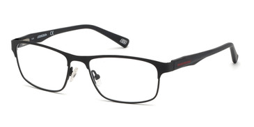 Matte Black Skechers SE3230 Eyeglasses.