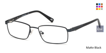 Matte Black Skechers SE3232 Eyeglasses.