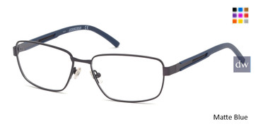 Matte Blue Skechers SE3234 Eyeglasses.