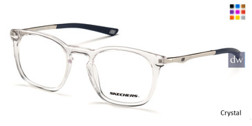 Crystal Skechers SE3244 Eyeglasses.