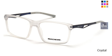 Crystal Skechers SE3245 Eyeglasses.