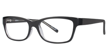 Black Crystal Vivid Soho 120 Eyeglasses.