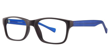 Black Matt/Matt Blue Vivid Soho 122 Eyeglasses.