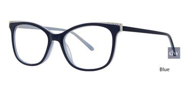 Blue VIVID BOUTIQUE 4051 Eyeglasses