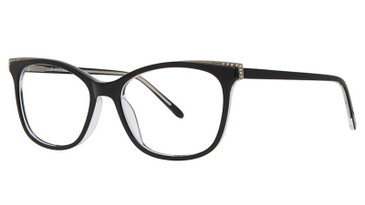 Black/Crystal VIVID BOUTIQUE 4051 Eyeglasses