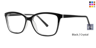 Black/Crystal Vivid Soho 1046 Eyeglasses.