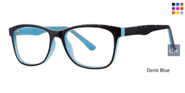 Demi Blue Vivid Soho 1045 Eyeglasses.