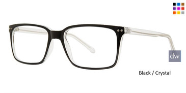 Black / Crystal  Vivid Soho 1043 Eyeglasses