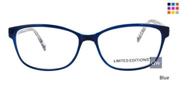 Blue Limited Edition Liberty Eyeglasses