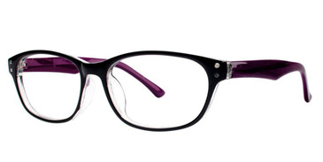 Black/Purple Vivid Soho 1006 Eyeglasses