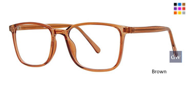 Brown Vivid Soho 135 Eyeglasses.