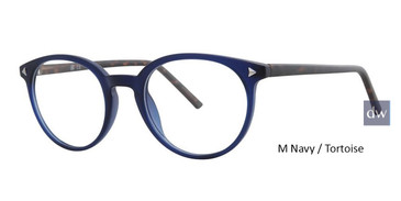 M Navy / Tortoise Vivid Soho 134 Eyeglasses - Teenager