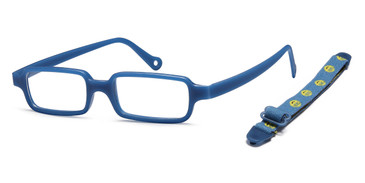 Blue Capri Trendy TF6 Eyeglasses