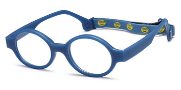 Blue Capri Trendy TF5 Eyeglasses