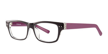 Black/Purple Vivid Soho 1010 Eyeglasses