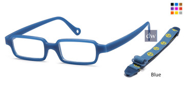 Blue CAPRI TF4 Eyeglasses