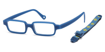 Blue Capri Trendy TF4 Eyeglasses