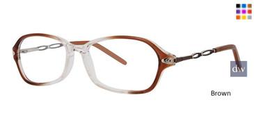 Brown Vivid Dynasty 64 Eyeglasses