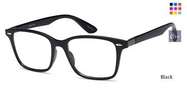 Black CAPRI SIMON Eyeglasses