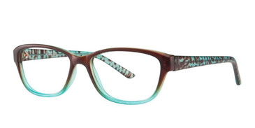 Brown/Blue Vivid Soho 1013 Eyeglasses.