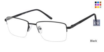 Black CAPRI PT203 Eyeglasses