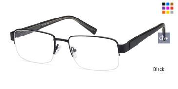 Black CAPRI PT202 Eyeglasses