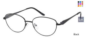 Black CAPRI PT101 Eyeglasses