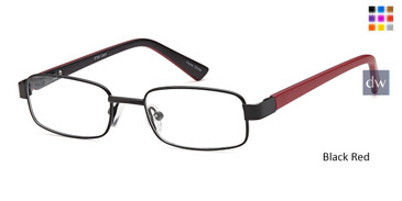Black Red CAPRI PT99 Eyeglasses
