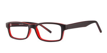 Black/Wine Vivid Soho 1015 Eyeglasses.