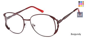 Burgundy CAPRI PT201 Eyeglasses