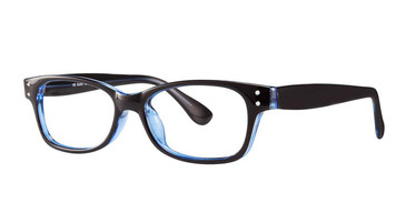Black/Blue Vivid Soho 1016 Eyeglasses.