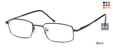 Black CAPRI 7713 Eyeglasses