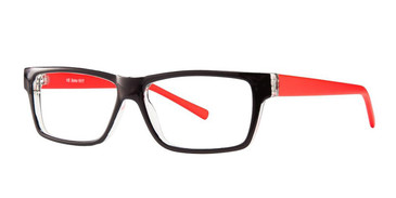 Black Crystal/Red Vivid Soho 1017 Eyeglasses.