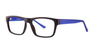 Matt Black/Matt Blue Vivid Soho 1018 Eyeglasses.