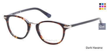 Dark Havana Gant GA3115 Eyeglasses - Teenager.