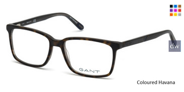 Coloured Havana Gant GA3165 Eyeglasses.