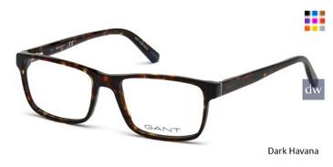 Dark Havana Gant GA3177 Eyeglasses.