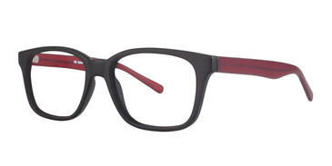 Matt Black/Matt Red Vivid Soho 1021 Eyeglasses .