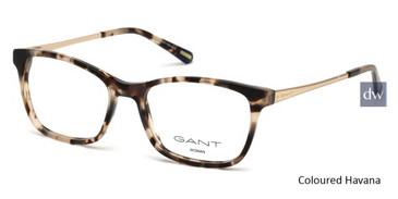 Coloured Havana Gant GA4083 Eyeglasses.