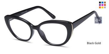 Black Gold CAPRI UP306 Eyeglasses