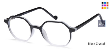 Black Crystal CAPRI UP305 Eyeglasses - Teenager
