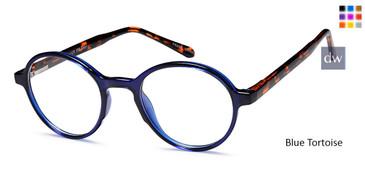 Blue Tortoise CAPRI UP302 Eyeglasses