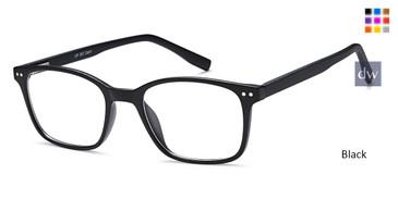Black CAPRI UP303 Eyeglasses
