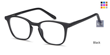 Black CAPRI US95 Eyeglasses